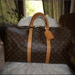 AUTHENTIC Louis Vuitton Keepall 50